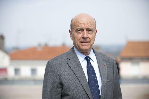 Alain Juppé en mars dernier.