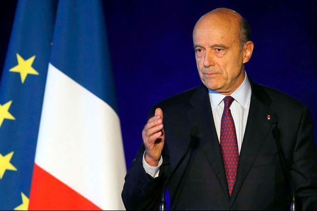 Alain Juppé en novembre dernier.