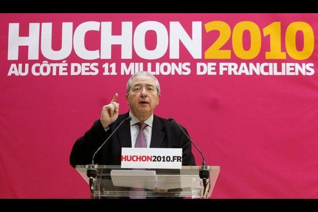 """Jean-Paul Huchon dénonce une """"campagne de canniveau""""."""