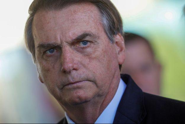 Jair Bolsonaro le 28 août 2019.