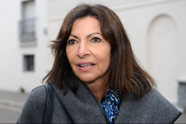 Anne Hidalgo le 8 octobre 2021.