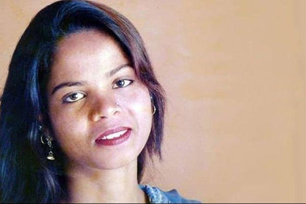Un portrait non daté d'Asia Bibi.