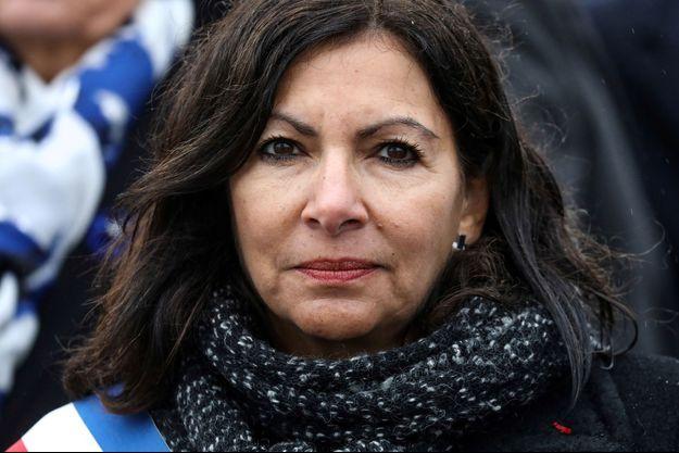 Anne Hidalgo ici à Paris lors des célébrations du 11 novembre.