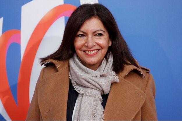 Anne Hidalgo, lundi à Paris.
