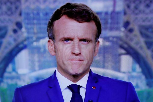 Emmanuel Macron s'est exprimée à la télévision ce lundi à 20 heures.