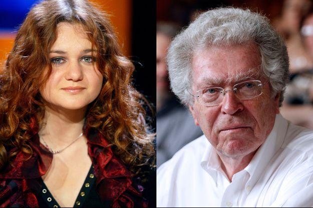 Ariane Fornia en 2007 et Pierre Joxe en 2012.