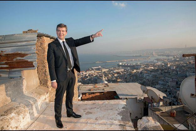Arnaud Montebourg : vue sur la ville blanche et son port, dimanche 11 décembre.