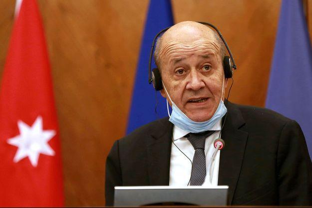 Le ministre français des Affaires étrangères Jean-Yves Le Drian.