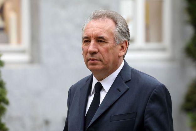 François Bayrou en mai 2018.