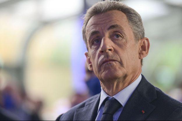 Nicolas Sarkozy , fin septembre à Paris.