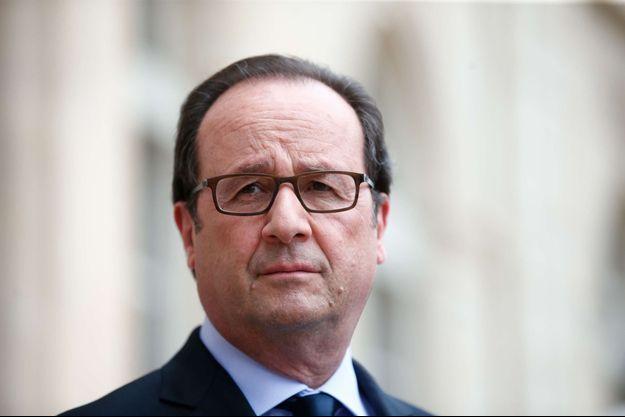 François Hollande à l'Elysée le 22 juillet dernier.
