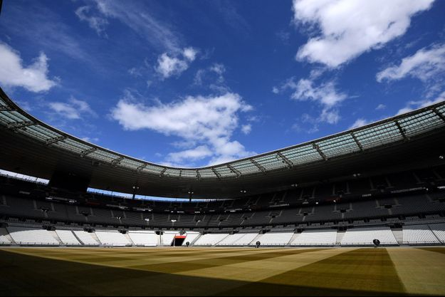 Le Stade de France, ici en avril 2020.