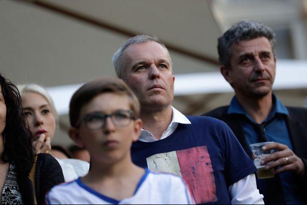 François de Rugy et les députés de l'Assemblée nationale avaient suivi la demi-finale ensemble au Palais Bourbon.