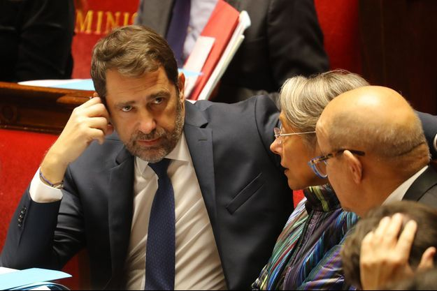 Christophe Castaner à l'Assemblée nationale, mardi.