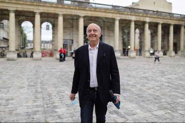 Alain Juppé, ici à Bordeaux lors du second tour des Municipales en juin.