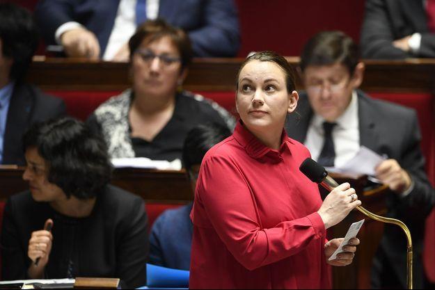 Axelle Lemaire à l'Assemblée nationale début février.