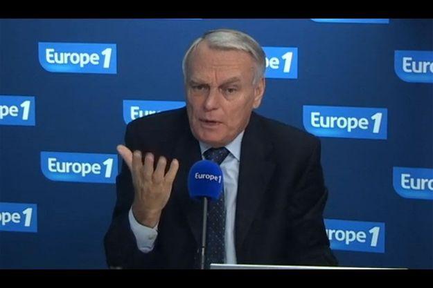 Jean-Marc Ayrault sur Europe 1, mardi matin.