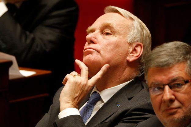 Jean-Marc Ayrault à l'Assemblée nationale la semaine dernière.