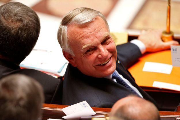 Jean-Marc Ayrault à l'Assemblée nationale, le 23 avril