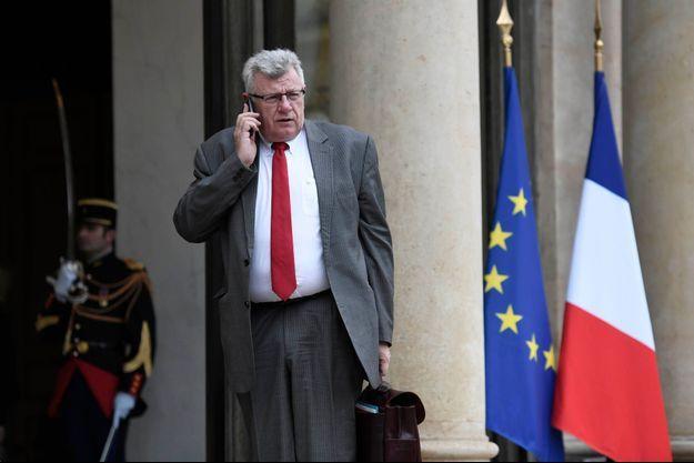 Christian Eckert était le ministre chargé du budget du précédent gouvernement.