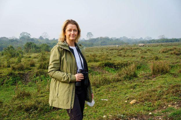 A la rencontre des rhinocéros du parc national de Kaziranga, dans l'Etat indien de l'Assam, le 31 janvier.
