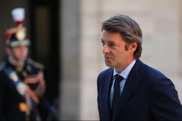 François Baroin à l'Elysée, le 30 janvier dernier.