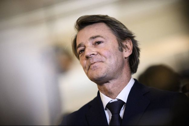 François Baroin à Paris, en février 2020.
