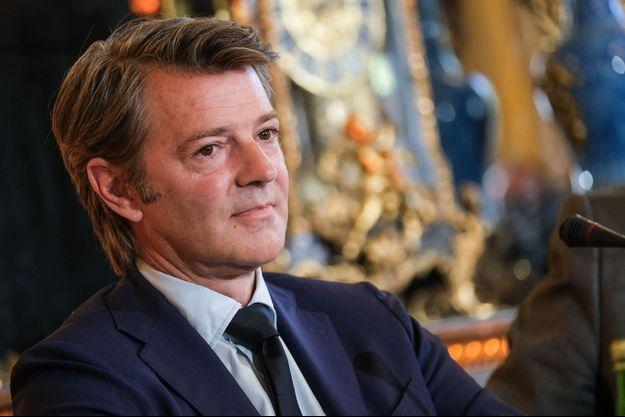 François Baroin au Sénat le 8 juillet 2020.