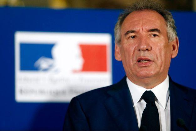 François Bayrou a quitté son poste de ministre de la Justice le 22 juin dernier.