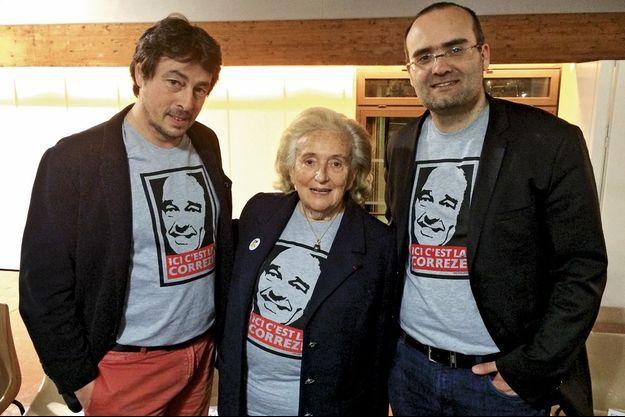 Bernadette Chirac a manqué de l'emporter dès le premier tour à Brive. Sa liste arrive en tête avec 49,46%.
