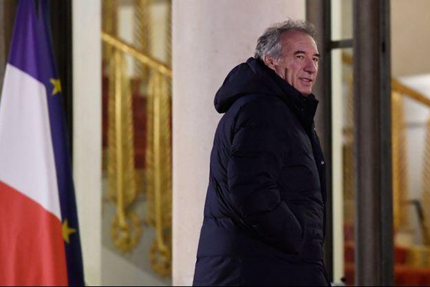 François Bayrou à l'Elysée le 21 novembre 2018.