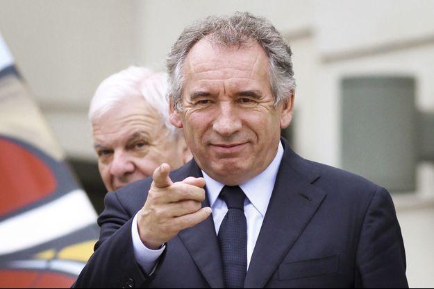 François Bayrou, maire de Pau et président du MoDem.