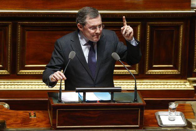 Le sénateur Philippe Bas en mars 2016.