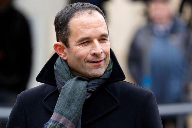 Benoit Hamon, lundi à Matignon.