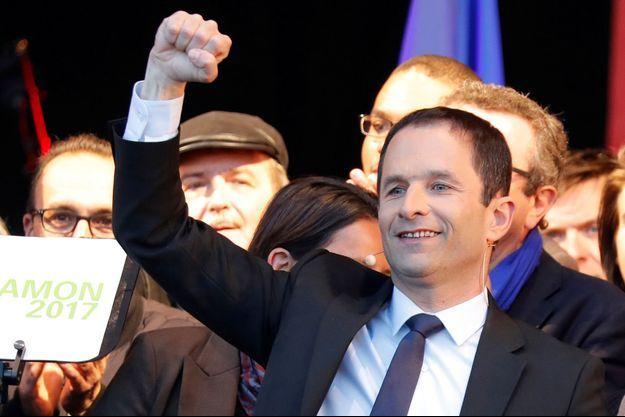 Benoît Hamon ici en avril 2017 lors de la campagne présidentielle.