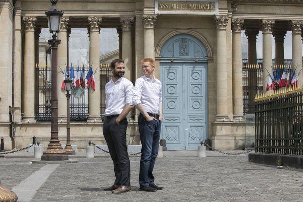 Ugo Bernalicis et Adrien Quatennens