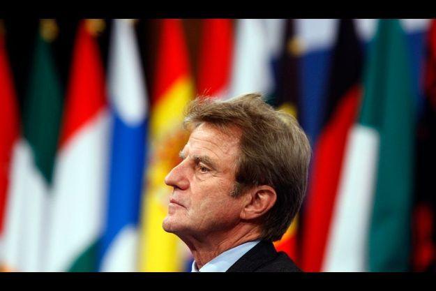 Bernard Kouchner, ministre des Affaires étrangères.