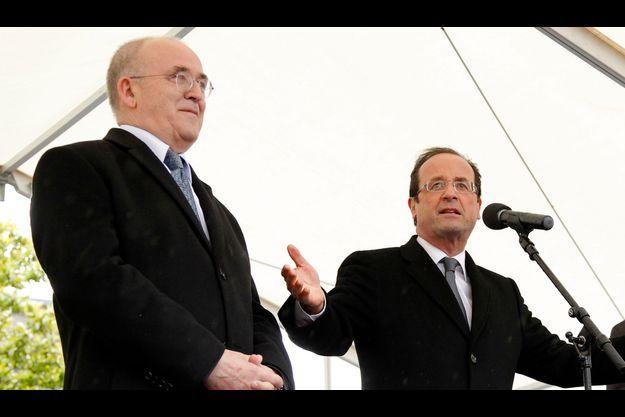 Bernard Poignant avec François Hollande