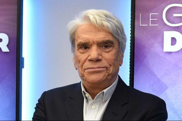 Bernard Tapie sur LCI, en juillet 2019.