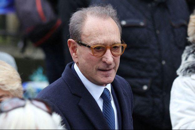 Bertrand Delanoë, ici fin janvier aux obsèques de Michou.