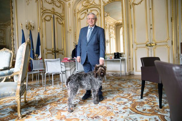 Jacques Mézard et Lucrèce