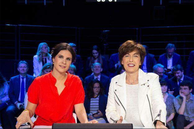 Apolline de Malherbe et Ruth Elkrief, ici lors d'un précédent débat.
