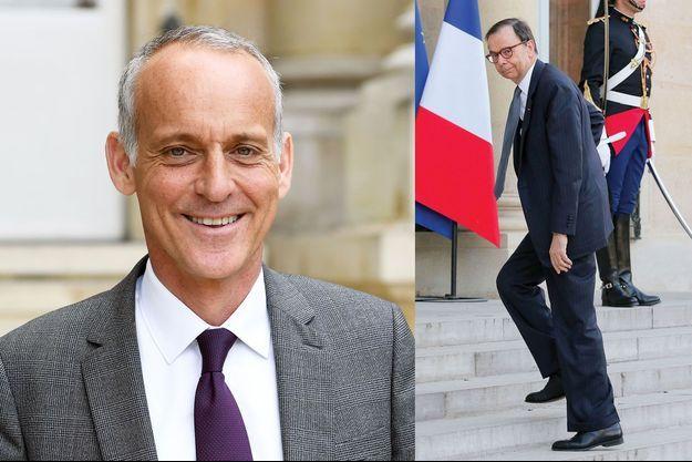 Loïc Dombreval, député LREM des Alpes-Maritimes, vétérinaire et auteur du rapport. A dr. : Louis Schweitzer, président de la Fondation droit animal, éthique et sciences.