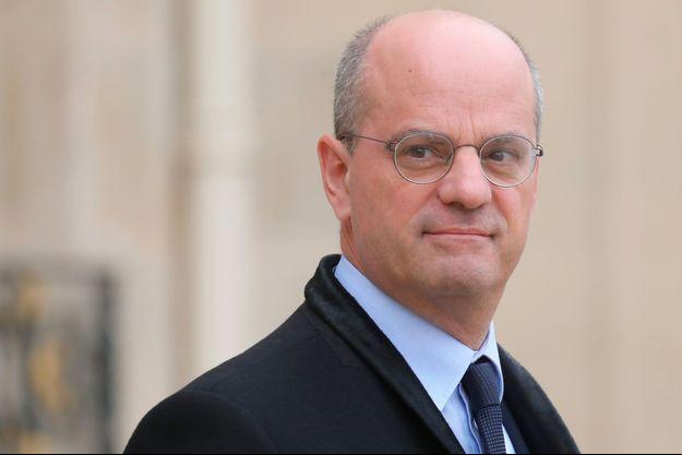 Jean-Michel Blanquer à l'Elysée mercredi.
