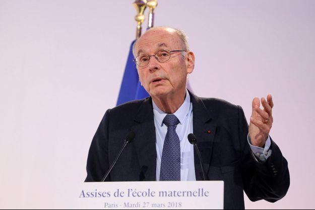 Boris Cyrulnik à Paris en mars 2018.