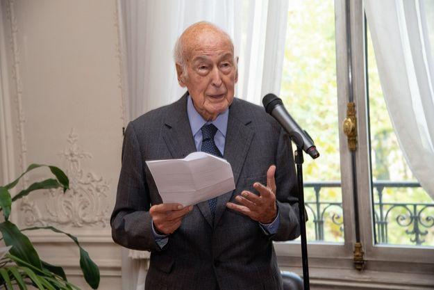 Le 15 octobre, la remise du prix Valéry Giscard d'Estaing par l'ancien président.