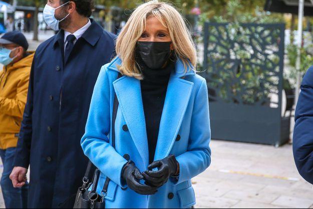 Brigitte Macron, ici en octobre dernier.