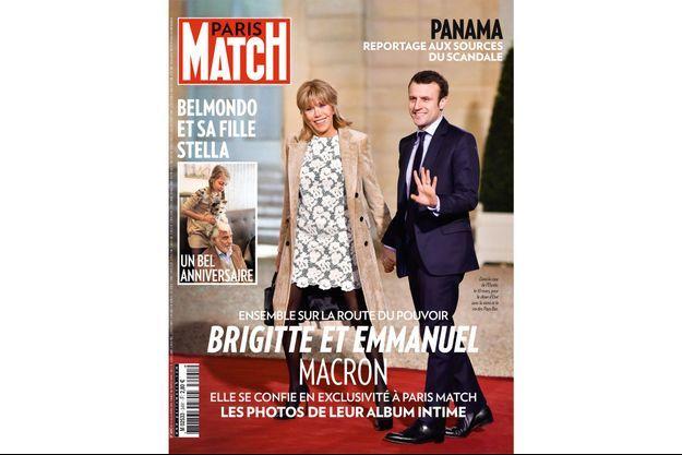 La couverture du numéro 3491 de Paris Match