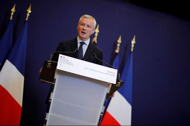 Bruno Le Maire à Paris, le 4 juin.