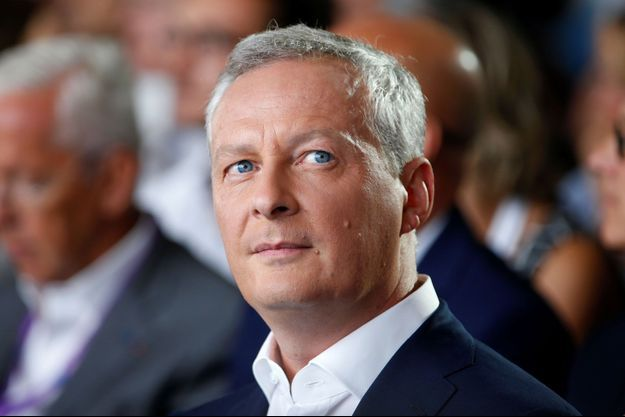 Bruno Le Maire à l'université d'été du Medef en août dernier.